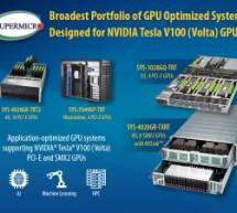 Supermicros GPU Server – optimierte Systeme mit NVIDIA Tesla V100 von Supermicro