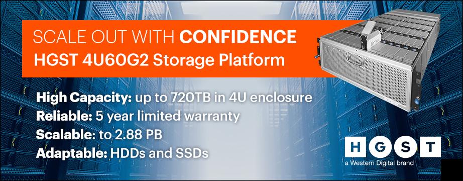 HGST 4U60G2 Storage JBOD - Hohe Speicherkapazität für Rechenzentren