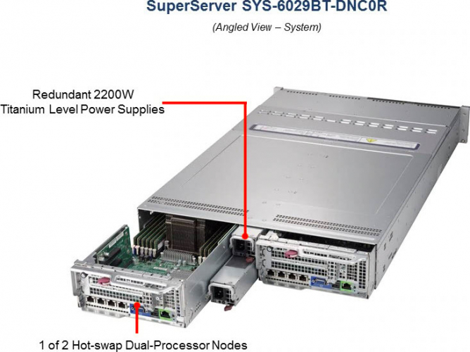SYS-6029BT-DNC0R Server