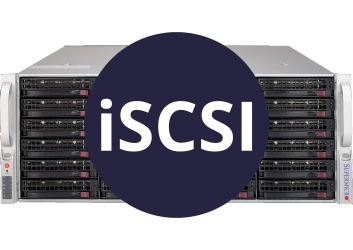 Storage with iSCSI Interface