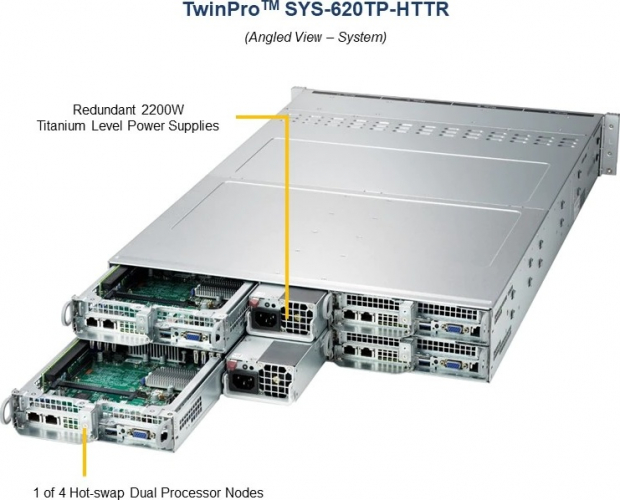 Supermicro SYS-620TP-HTTR 1 of 4 Hot-swap Dual