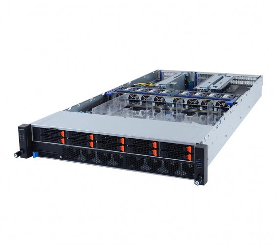 Gigabyte R292-4S1 2u Quad Socket Rack Server