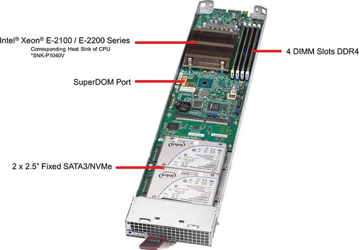 MBI-6119M-T2N Server