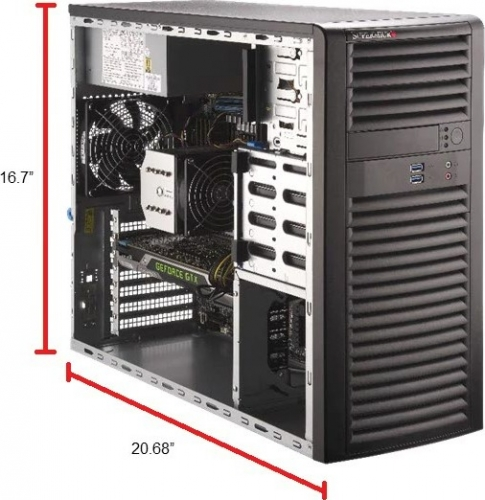 Supermicro SYS-5039A-I Tower Xeon W Workstation
