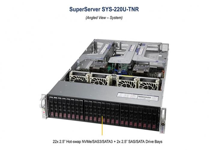 Supermicro SYS-220U-TNR Ultra 2U Rackmount