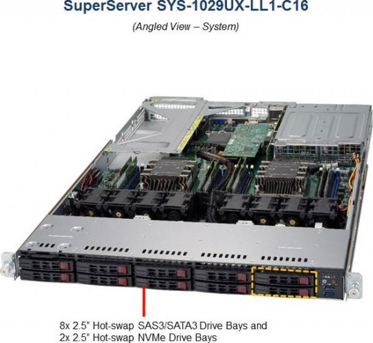 SYS-1029UX-LL1-C16 Server