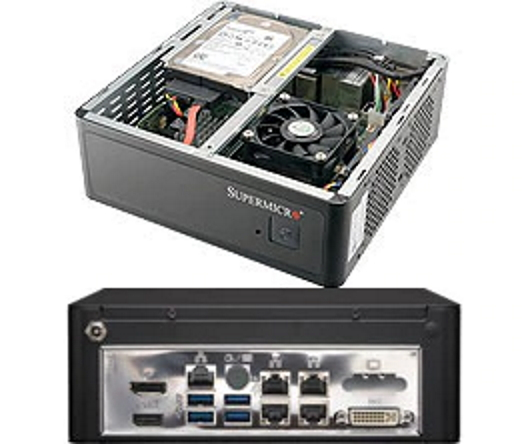 Supermicro SYS-1019S-MP Mini-ITX Box Server PC