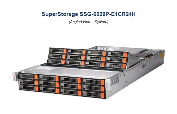 Supermicro SSG 6029P-E1CR24H 2U Backbone rackmount