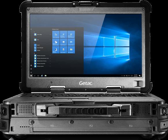 Getac X500 Mobiler Server Laptop