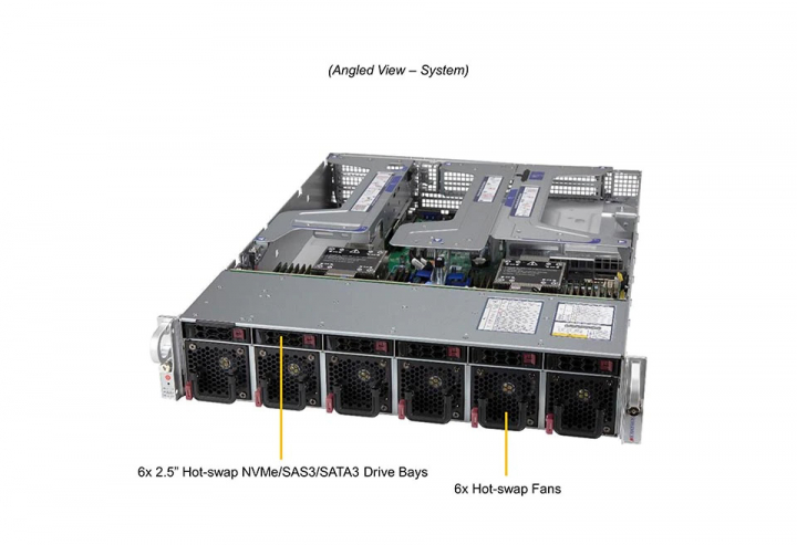 Supermicro SYS-220U-MTNR Ultra 2U Rack