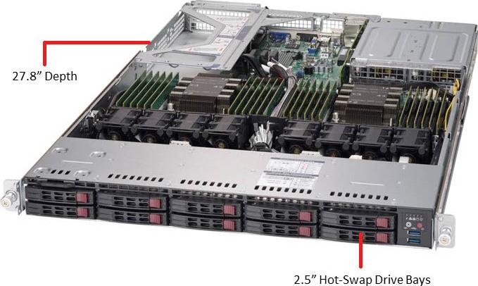 SYS-1029U-E1CR25M Server