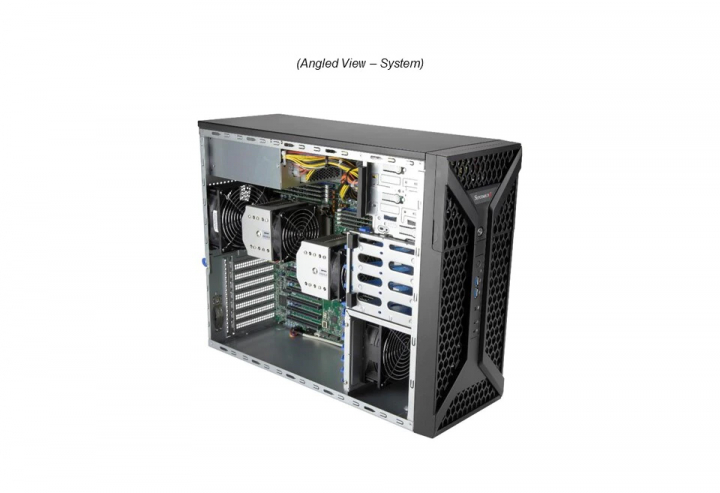 Supermicro SYS-730A-I Mid Tower 38 Cores 76Threads