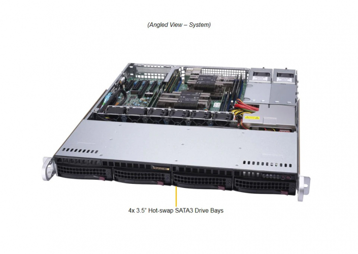 Happyware BA-SAE35M-1FTCV2-R 1U Rackmount server