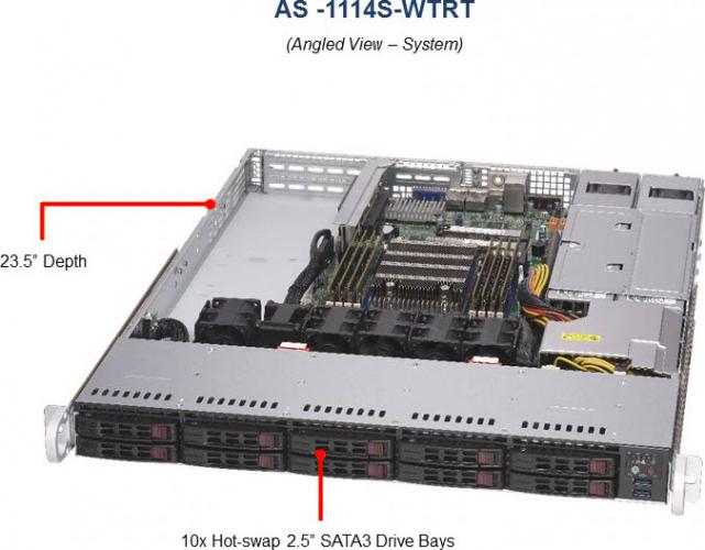 AS-1114S-WTRT Server