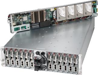 Cluster Server, Cluster Nodes