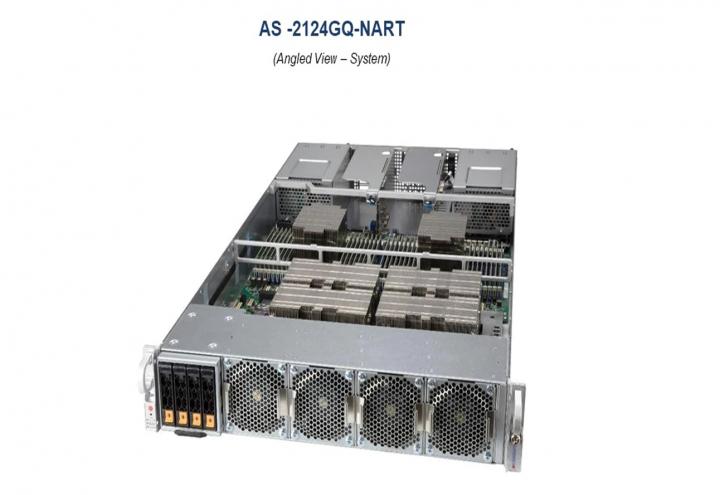 Supermicro AS-2124GQ-NART 2U Rackmount Dual AMD