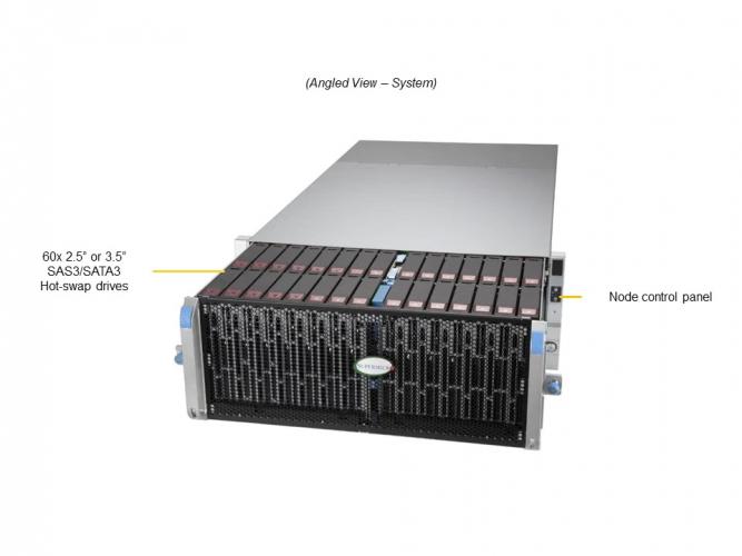 Supermicro SSG-640SP-E1CR60 4U Rack Dual Socket P+