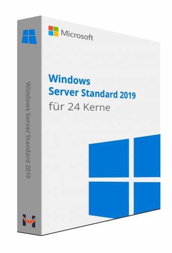 Windows Server Standard 2019 für 24 Kerne