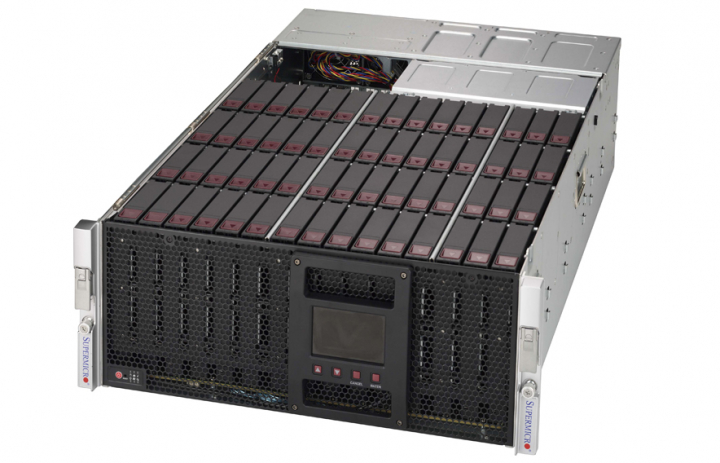 Supermicro CSE 946SE2C-R1K66JBOD 4U High Capacity