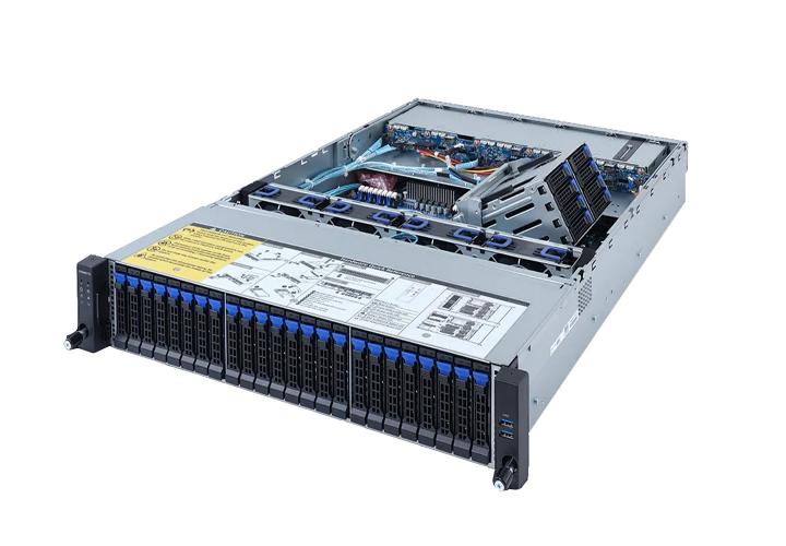 Gigabyte R262-ZA02U Rack mountable 42 Bay Single