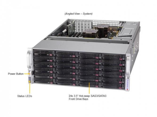 Supermicro SSG-640P-E1CR36L 4U Rack Dual Socket P+