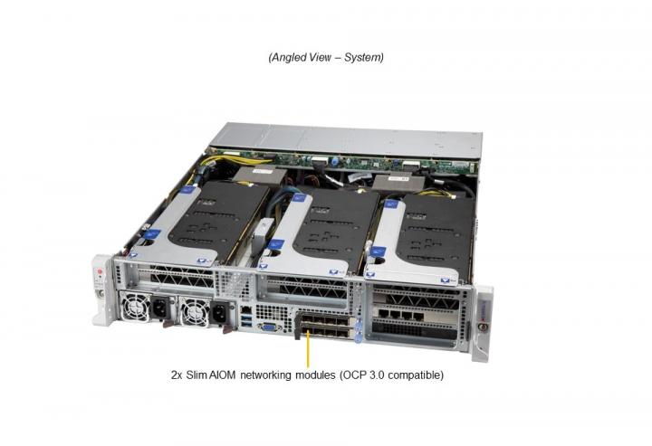 Supermicro SYS-220HE-FTNR 2U Rack Intel Xeon 40C