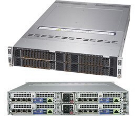 Supermicro SYS-2029BT-HER 2HE Twin All-NVMe Server