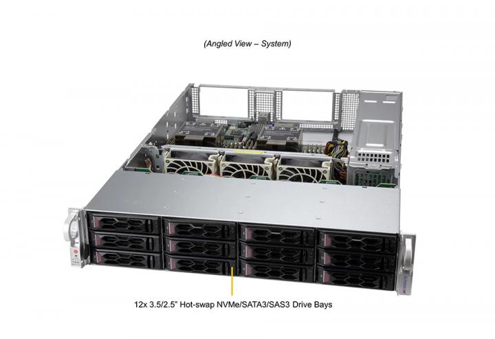 Supermicro SYS-620C-TN12R 2U Rack 6tb ram 16x DIMM