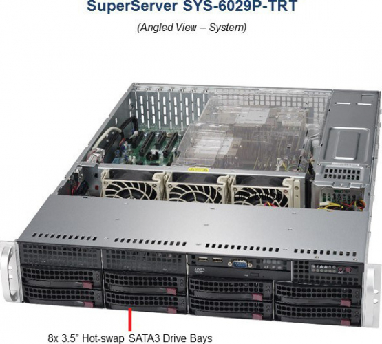 Supermicro SYS-6029P-TRT 2U Server