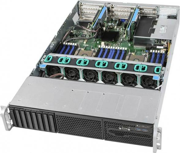 Intel R2208WFTZSR 2HE Dual Xeon Rack Server