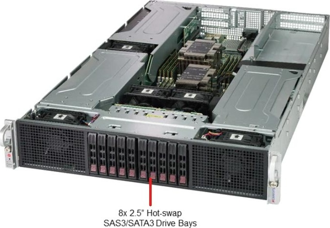 Supermicro SYS-2029GP-TR 2U Rack GPU Super-Server