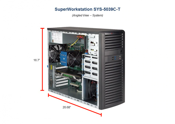 SYS-5039C-T Server