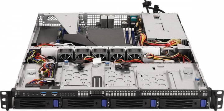 Asrock 1U4LW-X470 1HE Rack AMD Ryzen Server