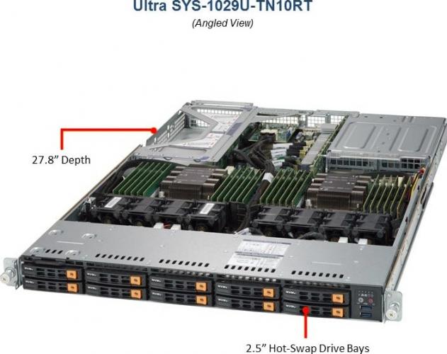 Supermicro SYS-1029U-TN10RT 1HE All-NVMe Server