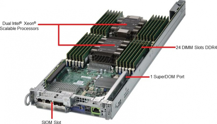 Supermicro BigTwin SYS-2029BT-HNR All-NVMe Server