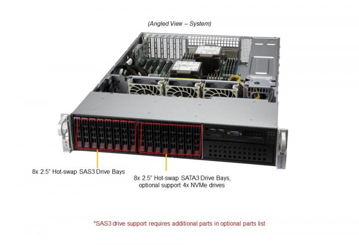 Supermicro SYS-220P-C9RT Mainstream 2U Rack