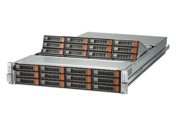 Supermicro 826SE1C-R1K02JBOD 2U SAS3 Simply double