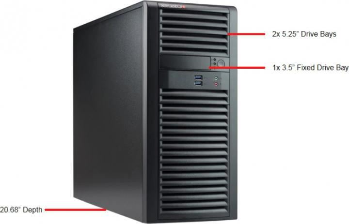 Supermicro SYS-7039A-I Tower Server