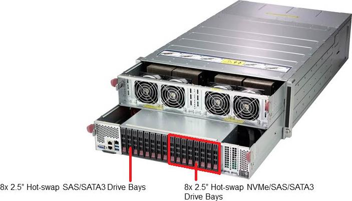 Supermicro SYS-4029GP-TVRT Nvidia Tesla GPU Server