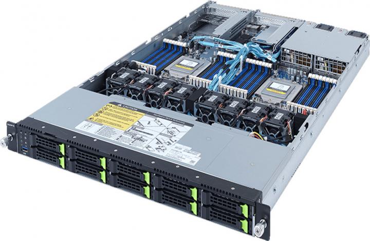 Gigabyte R182-Z93 1U Rackmount AMD EPYC 7003 DP 10