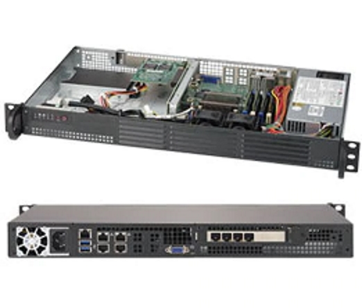Supermicro SYS-5019A-12TN4 Mini 1HE kurzer Server
