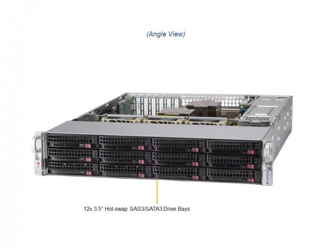 Supermicro SSG-620P-ACR12L 2U Rack Dual Socket P+