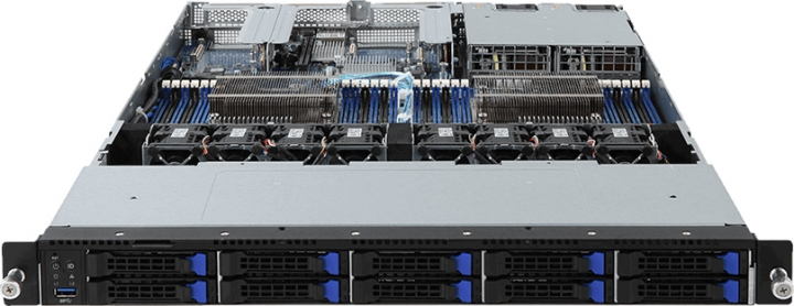 Gigabyte R181-T92 1HE Rack ARM Server, ThunderX2
