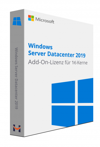 Windows Server Datacenter 2019 Add-On-Lizenz