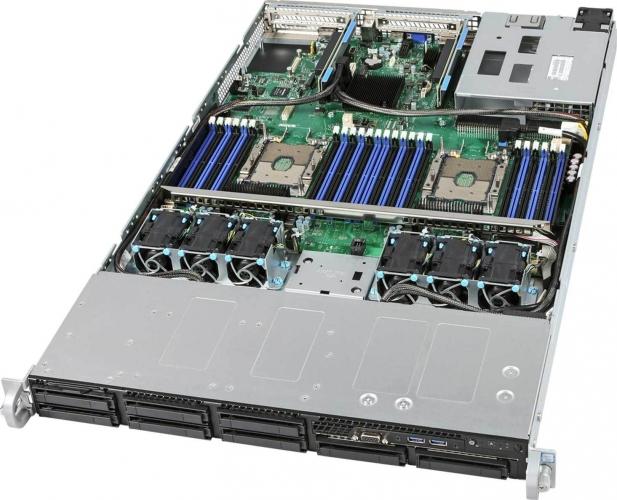 Intel R1208WFTYSR Dual Xeon 1HE Rack Server System