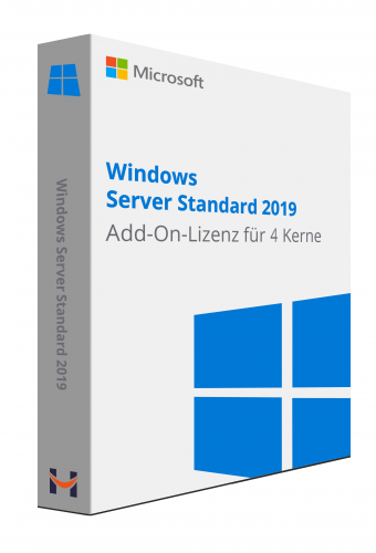 Windows Server Standard 2019 Add-On-Lizenz
