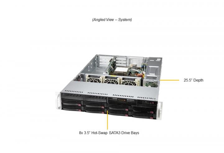 Supermicro SYS-520P-WTR 2U Rackmount