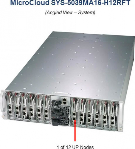 Supermicro SYS-5039MA16-H12RFT Microcloud Server