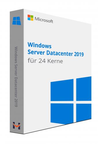 Windows Server Datacenter 2019 24 core licence