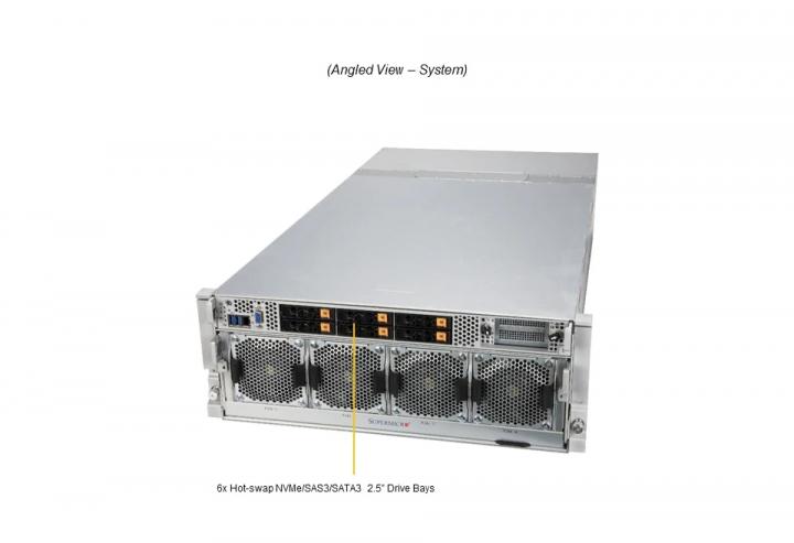 Supermicro SYS-420GP-TNAR+ Dual Xeon 8 GPU 80gb